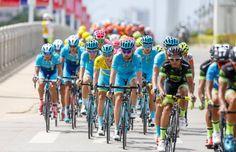 Skupaj so kolesarji na 9. etapah prevozili skoraj 1.550 kilometrov.