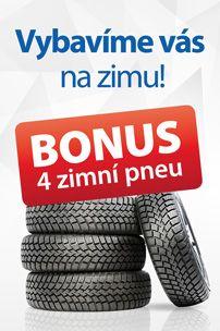 Zimní pneu jako bonus