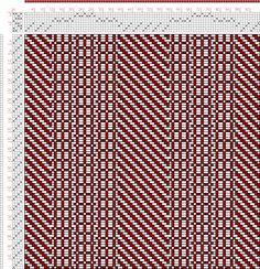 Hand Weaving Draft: Figure 2990, Atlas de 4000 Armures, Louis Serrure, 8S, 4T - Handweaving.net Hand Weaving and Draft Archive