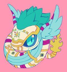quetzalmon by extyrannomon