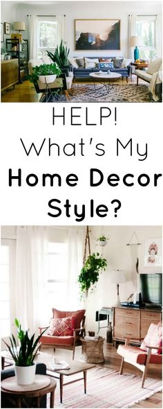 What's My Home Decor Style - Mid Century Modern