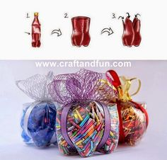 Recycled Pet Bottle - cute gift idea !