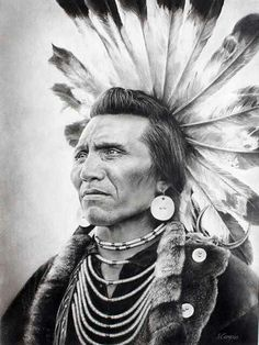 Salish chief wore a headdress of highly prized golden eagle feathers, which signify that he was outstanding in battle. A complete tail of twelve eagle feathers could be traded for a pony - Native American Native American Beauty, Native American Photos, Native American Tribes, American Indian Art, Native American History, American Indians, Native American Photography, Native American Headdress, American Symbols