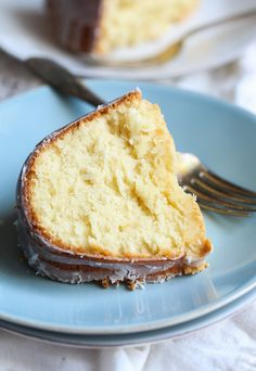 Coconut Cream Cheese Pound Cake ~ Cookies and Cups