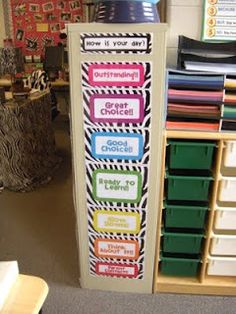 zebra clip chart!