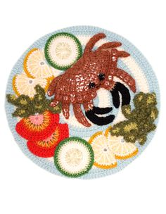 The Crocheted Foods of Kate Jenkins: amazing.