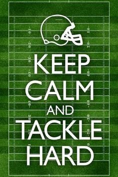 Keep Calm and Tackle Hard Football Poster - American Football - Football Signs, Football Cheer, Football Is Life, Football Season, Football Stuff, Football Football, Football Memes, Tackle Football, Football Mom Quotes