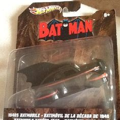 BAT MAN BAT-MOBILE THE 1940's version the Rare one to always find $17.99