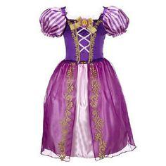 Cute Princess Cinderella Rapunzel Snow White Elsa Frozen Sleeping Beauty Child Youth Kids Daughters Dress Gift cosplay