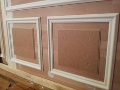 Home & Decor Wainscoting Wall, Wall Molding, Moulding, Narrow Hallway Decorating, Wall Design, House Design, Wall Trim, Moldings And Trim, Home Projects