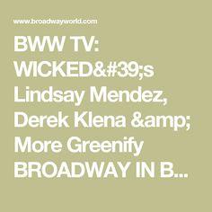 BWW TV: WICKED's Lindsay Mendez, Derek Klena & More Greenify BROADWAY IN BRYANT PARK! Video
