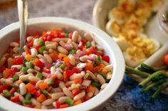 Healthy Salad Black Eyed Pea Salad Recipe, So easy to make!!