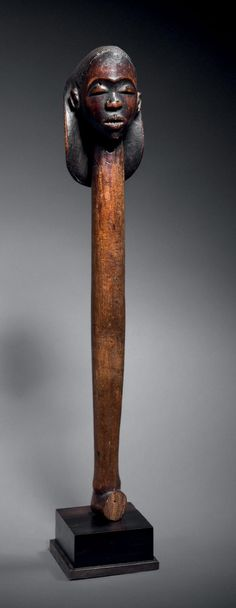 http://catalogue.drouot.com  Provenance(s):  - D'après la tradition familiale, objet collecté par Monseigneur Comboni avant 1881  - Collection privée européenne