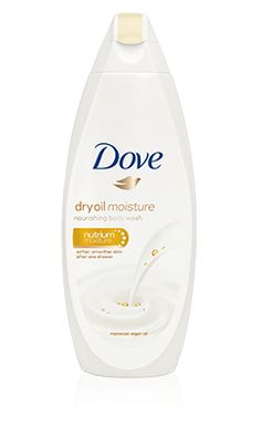 Cleanse and nourish your skin with our unique formula with Moroccan Argan Oil, Dove's mildest cleansers and NutriumMoisture.