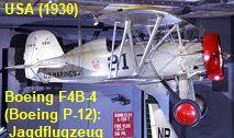 Boeing F4B-4 (Boeing P-12): Doppeldecker-Jagdflugzeug der US Navy und US Army Air Corps in den frühen 1930er Jahren Us Marine Corps, Us Navy, Helicopters, Aircraft, Us Military, Simple Machines, Landing Gear, Hunting, Us Marines