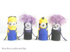 How to Make Despicable Me Minions | Pams Party & Practical Tips
