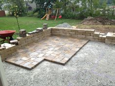 Probably Not Good If Thereu0027s Going To Be Furniture Legs, But Definitely  Good Enough For A Path. | Patio Planning | Pinterest | Stone Patios, ...