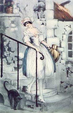 Milkmaid, 1928