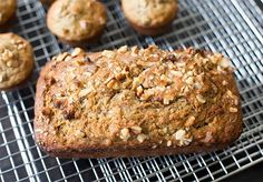 Almond-Infused Banana Bread is a moist and delicious quick bread that includes pure almond extract and crunchy nuts for a bit of extra flavor and texture!