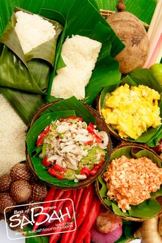 Have you tried Sabah's Local Delicacies, Hinava? Have a taste of Borneo with this popular local cuisine which is a raw fish salad with pieces of raw fish, lime, onions as well as other ingredients.. Try some during our special Kaamatan themed buffet this May 2014. More info at http://suteraharbour.com/blogs/harvest-festival-promotion/