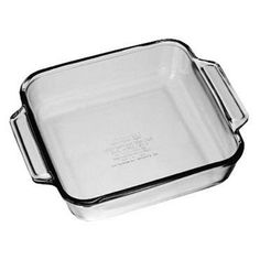 8 Square Crystal Cake Pan *** Insider's special offer that you can't miss : Baking pans