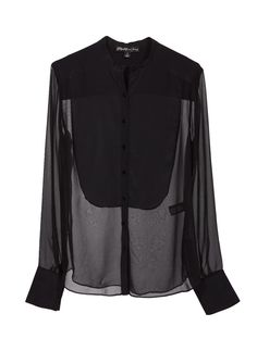 We love this chic silk blouse from Elizabeth and James!