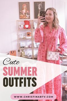 Cute summer outfits to style and wear this summer! Beach Vacation Outfits, Vacation Dresses, Cute Summer Dresses, Bathing Suits, Formal Dresses, Swimwear, How To Wear, Style, Fashion