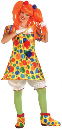 Giggles the Clown Costume | Cute Clown Costume