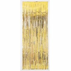 Lametta Vorhang gold 91 x 244cm