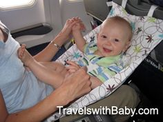 Travels with Baby - FlyeBaby Travel Hammock