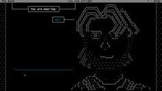 Plaisir text adventure ASCII art