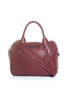 McQ Alexander McQueen redchurch leather bag £440.