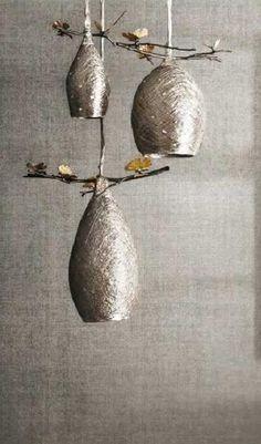 Cocoon Pendant Lamps By Michael Aram