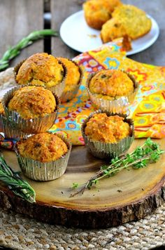 Cheesy Corn Muffins | Community Post: 27 Vegan Thanksgiving Dishes That Will Make Meat Eaters Drool