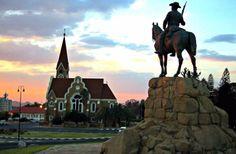 Kirche Denkmal Nam Windhoek, The City Where Most Safaris Travelling Through Namibia Begin Kenya Travel, Belize Travel, Africa Travel, South Africa Safari, West Africa, Tanzania, Vacation Ideas, Sweden, Mozambique Beaches