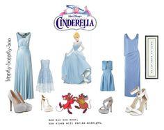 """Cinderella"" by aowens99 on Polyvore featuring Chi Chi, Giorgio Armani, Ariella, David Tutera, Biba and Vintage Playing Cards"