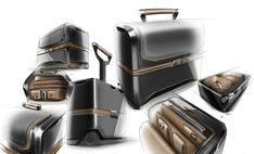 YANARA TECHNOLOGIES - AIRLINE PILOT CASE | 2012 on Behance Id Digital, Digital Board, Sketch Photoshop, Photoshop Rendering, Trolley Case, Suitcase Packing, Best Travel Accessories, Industrial Design Sketch, Sketch Design