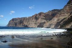 Playa de Los Gigantes, Tenerife - îles Canaries (Espagne)