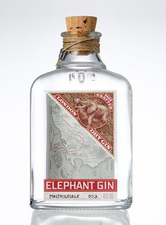 COMING SUMMER 2013: A premium dry gin, handcrafted and distilled in Germany, inspired by Africa and in support of African Elephant conservation.