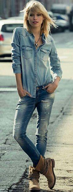 Fashion in denim