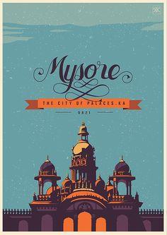 Travel Postcards & Posters by Ranganath Krishnamani