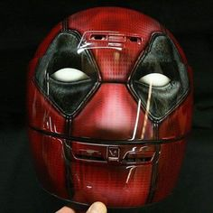 Deadpool Motorcycle Helmet 2