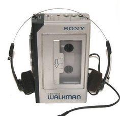 The Walkman - cutting edge technology.