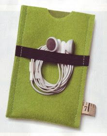 A Spoonful of Sugar: Felt Smartphone Covers