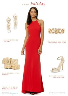 Holiday Evening Event Dresses