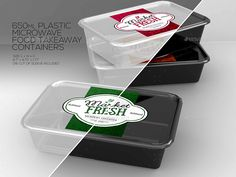 Fast Food Boxes Vol.4: Take Out Packaging Mock Ups