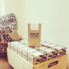 Swedish Roastery Drop Coffee Praised for Cardboard Box Package Design