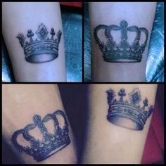 Crown #tattoobyhasan #antalyaaksamlari #tattoodesign #Crown #farklitarz #kraltaci #tac #cift #superbirhaftaolacak