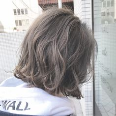 48 Ideas Hair Ombre Ideas Beauty For 2019 Ombre Bob Hair, Ombre Hair Color, Cool Hair Color, Grey Ombre, Bob Perm, Androgynous Haircut, Short Choppy Hair, Asian Hair, Light Hair