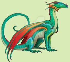Colored sketch of Glory, my fav character from Wings of Fire Tumblr post:pencilcat.tumblr.com/post/1634…